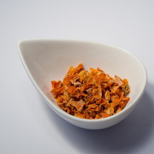 Karottenstücke